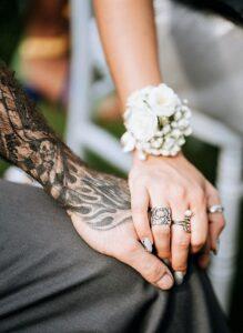 Matrimonio da Bikers - floral designer