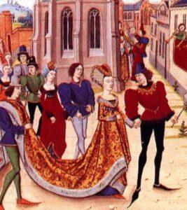 La storia dell'abito - medioevo