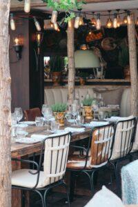I vari tipi di location - ristorante