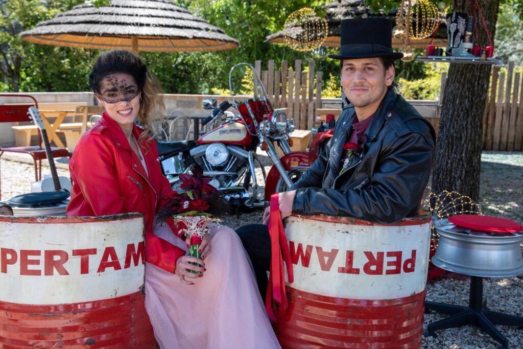 Matrimonio da bikers