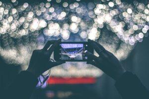 Fotografi con cellulare