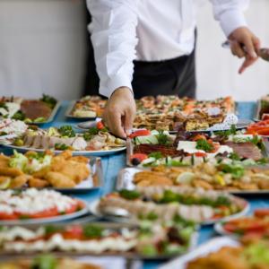 buffet e regole anti-covid